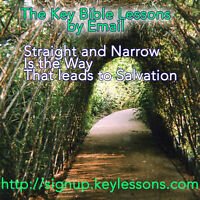 30 Free Key Bible Lessons by Email