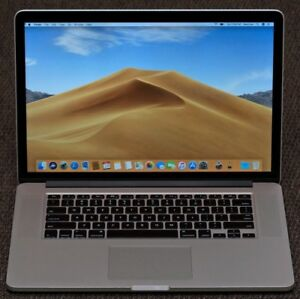 "15.4"" Apple 2013 MacBook Pro, i7 2GHz, 8GB, 256GB SSD, 67 Cycles"