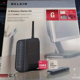 Belkin G wireless starter kit