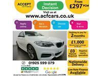 2016 WHITE BMW M240i 3.0 T SPORT PETROL AUTO 2DR COUPE CAR FINANCE FR £297 PCM
