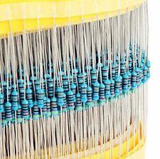 600pcs Metal Film Resistors 1/% Precision And Error Electrical 30 Types Equipment