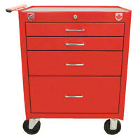 New Beach Toolbox - 4 drawer roller cabinet