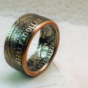 American Half dollar Coin Ring