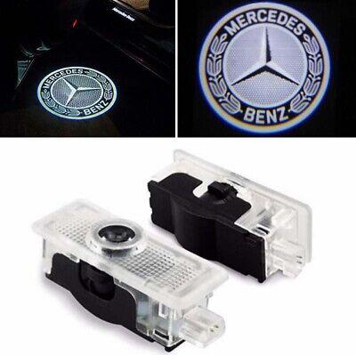 Tür Beleuchtung Einstieglicht LED Logo Mercedes Benz C207 A207 CLS C218 CLA C117
