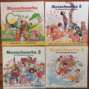 Robert Munsch MUNSCHWORKS COLLECTION like new $50