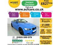 2012 BLUE BMW M3 LIMITED EDITION 500 415 BHP CONVERTIBLE CAR FINANCE FR £627 PCM