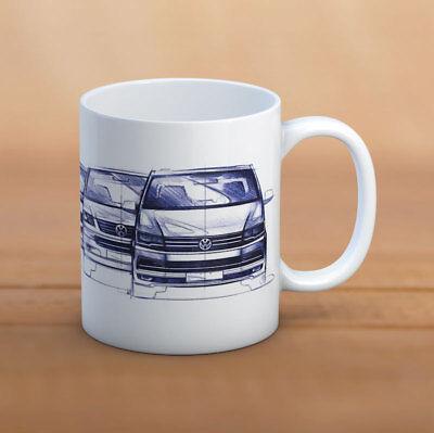 4t Tee (VW transporter Becher, tasse VW T2 / T3 / T4 / T5 / T6 VW Tee/Kaffeebecher )