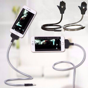 Flexible Stand UP USB Charging Data Cable