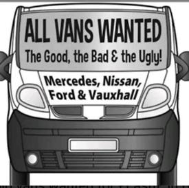 Van's wanted not failures non runner's 07946731101