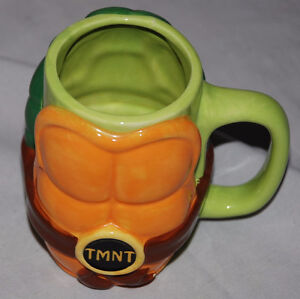 Teenage Mutant Ninja Turtles Shell Molded Mug 32oz - Geek
