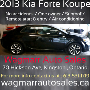 2013 kia koup One owner, no accidents. $9995 plus taxes
