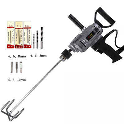 220v Electric Cement Mixer 3-16mm Chuck Electric Portable Drill Y