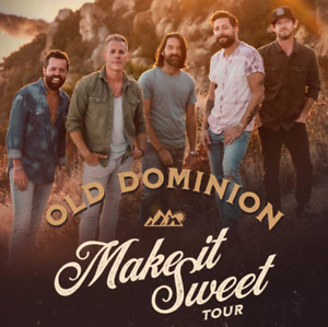 Old Dominion Concert (3 Tickets!) HFX - May 8th