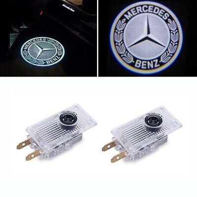 2x Türlicht Led Logo Projektor für Mercedes Benz W210 VIANO VITO W639 Sprinter