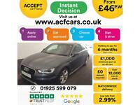 2015 GREY AUDI A3 1.6 TDI 110 S LINE DIESEL AUTO 3DR CAR FINANCE FROM 46 P/WK