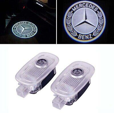 2x Türlicht LED Logo Laser Projektor für Mercedes Benz MPV Viano VitoW447