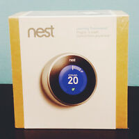 Nest Thermostat 2nd Generation - Brand new, never used!