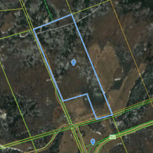 85.8 acres in unorganized twp on hwy 522 near Golden Valley
