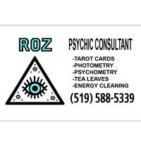 Psychic Consultant Readings with Roz