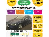 2014 BLUE AUDI A3 SPORTBACK 2.0 TDI 150 S LINE AUTO 5DR CAR FINANCE FROM 46 P/WK