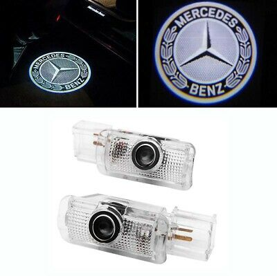 2x Led Türlicht Logo Projektor für Mercedes Benz R W251 ML W164 GL  X164