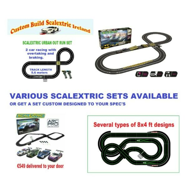 Various Scalextric Sets