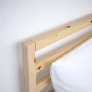 Ikea Queen bedframe - Tarva $50