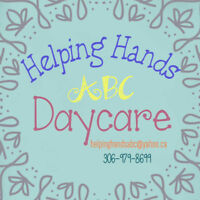 Early Childhood Educator Position Open at Helping Hands Daycare