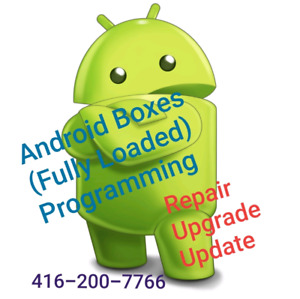 Android Box, Amazon fire TV Repair, Upgrade , Update and Sales.