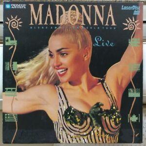 Blond Ambition World Tour Live Laser Disc Madonna collectors!