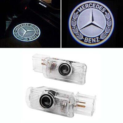 2x Türlicht Beleuchtung Logo Led Projektor für Mercedes Benz W251 W164 X164