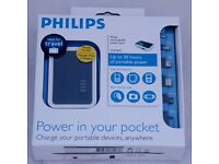 Philips Portable phone charger Brand new in box