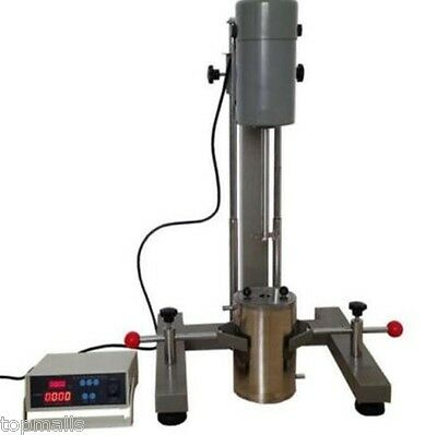 Digital Display High-speed Disperser Lab Homogenizer Mixer Fs-1100d 220v