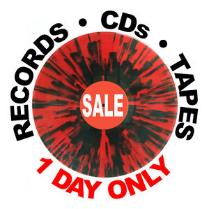 1 DAY SALE: Vinyl Records, LPs, Tapes, CDs -- Sat Oct 1