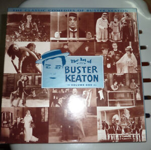 The Art of Buster Keaton- 3 volume Laser Disc Set