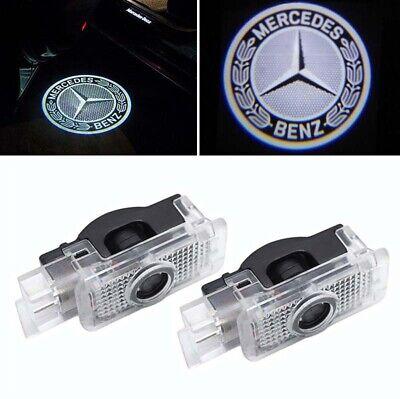 2x Led Türlicht Logo Laser Projektor Mercedes Benz C-Klasse W203 S203 CLK C208