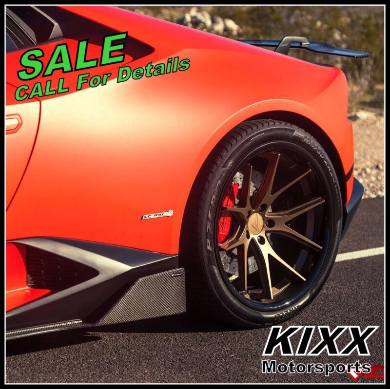 "20"" Ferrada Fr2 20x9 20x10.5 Bronze Concave Wheels Ford Mustang Gt Gt500"