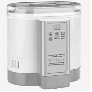 Cuisinart Electronic Yogurt Maker with Automatic Cooling