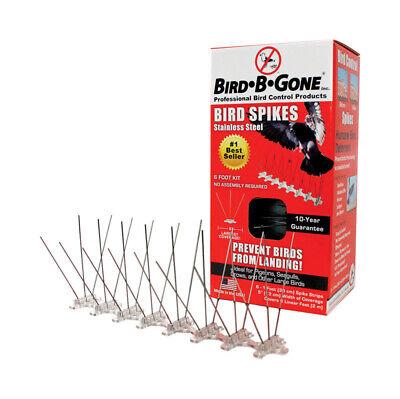 Bird B Gone 5in. 6 Stainless Steel Bird Spike 2001  MM2001-5