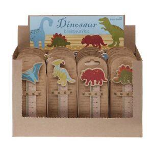 Dinosaur-Book-Marks-Boys-Bedroom-Books-Bookmark-Dino-Ruler-Stocking-Filler