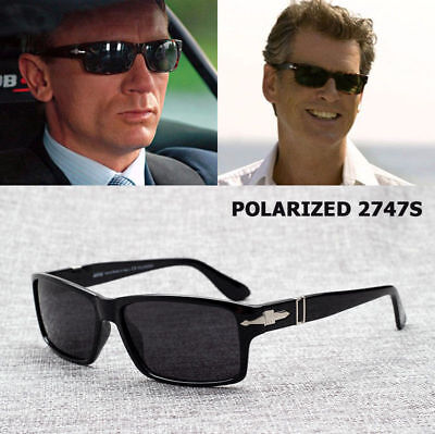 James Bond Polarized Sunglasses Men Brand Designer Sun Driving Celebrity (Adult Polarized Designer Sunglasses)