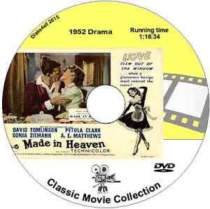 Made In Heaven - David Tomlinson, Petula Clark British Comedy Film DVD 1952