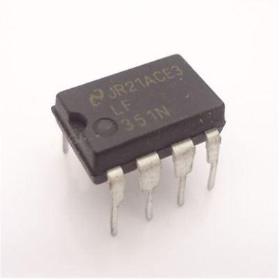Speed Op Amp - 10Pcs LF351 LF351N J-Fet Op Amp Wide Bandwidth High Speed New Ic li