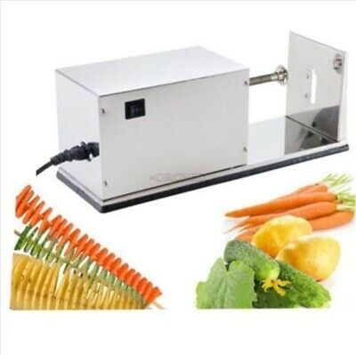 Stainless Steel Potato Spiral Cutting Machine Twist Potato Electronical Pt