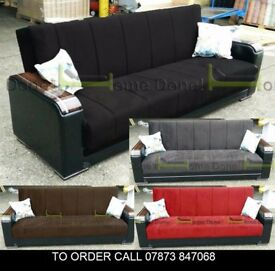 Talbot Turkish xasd Luxury Sofabed in 4 Colours