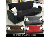 asdf Tealbot Turkish Luxury Sofabed in 4 Colours stg