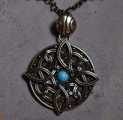 Amulet of Mara Skyrim Turquoise Necklace Engagement Jewelry Wedding Sky Rim
