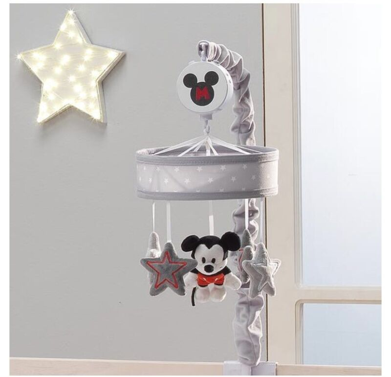 Lambs And Ivy Musical Mobile Disney Mickey Mouse