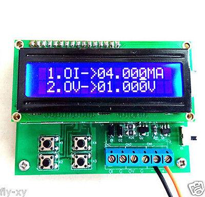4-20mA Current Signal Generator 0-10V Voltage Generator Transducer Simulator