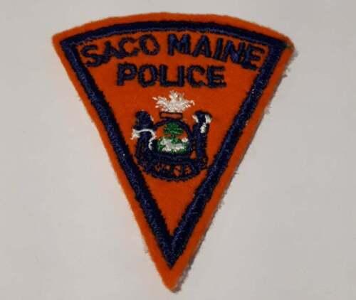 Saco Police  Maine ME Police Patch Vintage #1